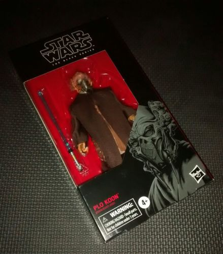 * Star Wars - The Black Series - Plo Koon - Collectable Figure 6