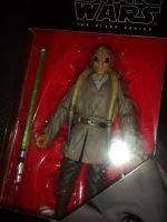 "* Star Wars - The Black Series - Kit Fisto - Collectable Figure 6"" Tall  *"
