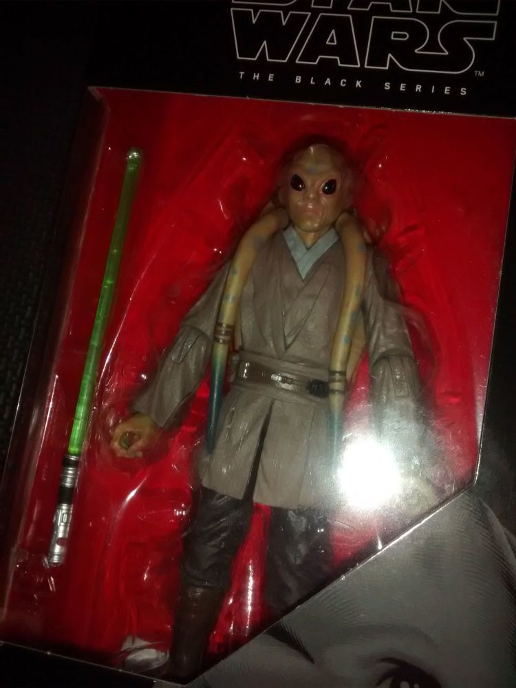 * Star Wars - The Black Series - Kit Fisto - Collectable Figure 6