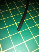 Heatshrink Tubing - 3.2 / 1.6mm - Black - 1 Metre - HS232BLK