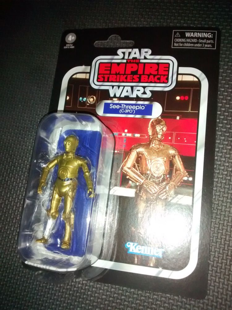 Star Wars - The Black Series - The Vintage Collection - C-3PO - See-Threep