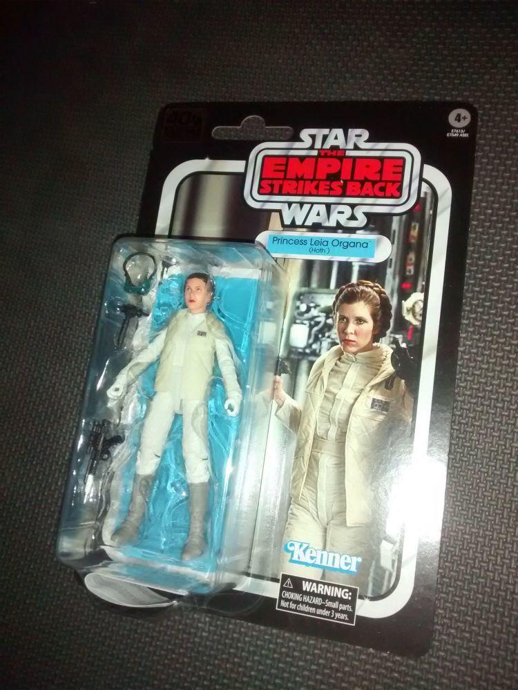 Star Wars - The Black Series - 40th Anniversary - Princess Leia Organa (Ho