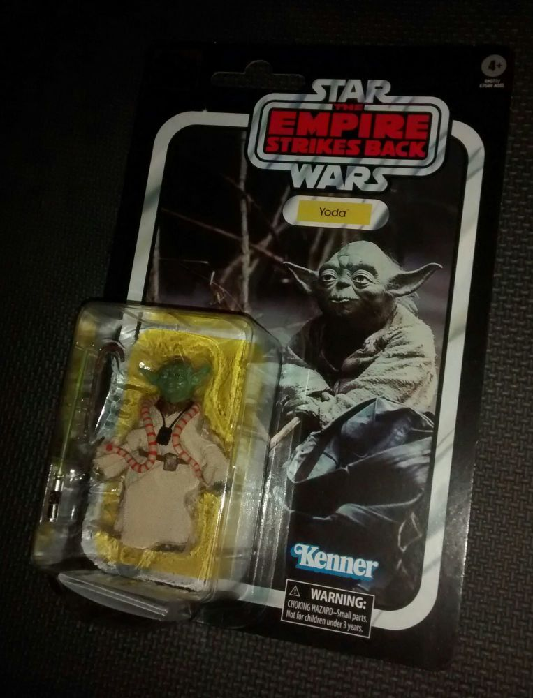 Star Wars - The Black Series - 40th Anniversary - Yoda - Collectable Figur
