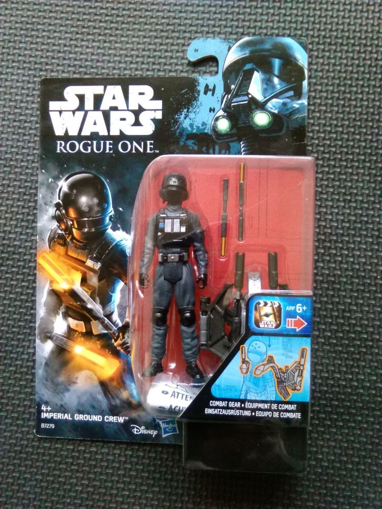 Star Wars Rogue One Imperial Ground Crew Collectable Carded Figure 3.75