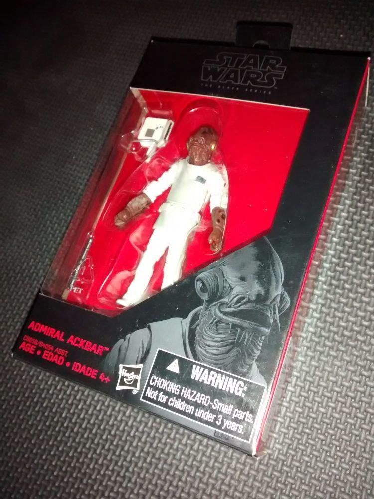 * Star Wars - The Black Series - Admiral Ackbar - C0658/B4054 - Collectable