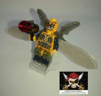 Lego Minifigure - Parademon Figure - Split From Set 76085