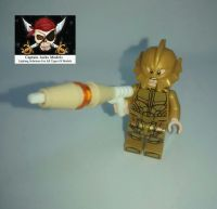 Lego Minifigure - Atlantean Guard Figure - Split From Set 76085