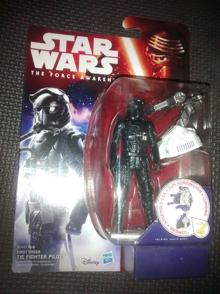 Star Wars The Force Awakens - First Order Tie Fighter Pilot - Collectable C