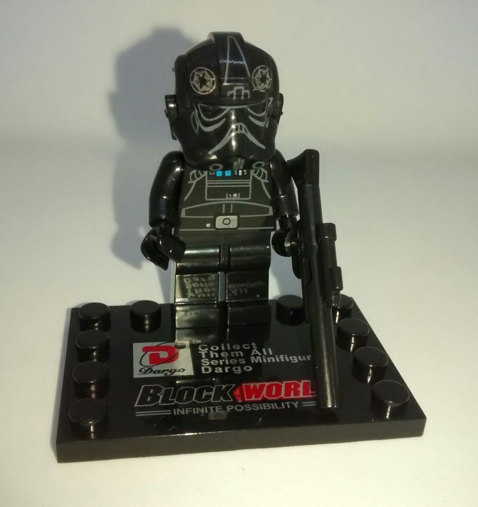 Dargo Block World - Star Wars - The Force Awakens - Brick Minifigure - Tie