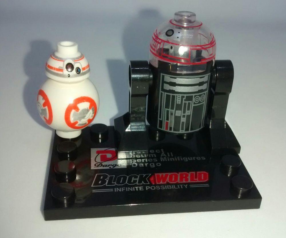 Dargo Block World - Star Wars - The Force Awakens - Brick Minifigure - BB-8