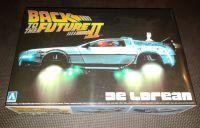 Aoshima - Back To The Future Part II - Delorean Time Machine - Plastic Model Kit