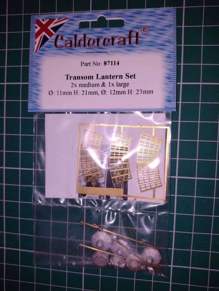 Caldercraft Transom Lantern Set Part No. 87115