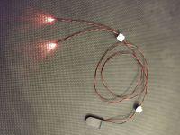 3mm Red Led Terminator  Eyes 1:1 Scale Light Kit