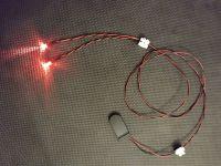 5mm Red Led Terminator Eyes 1:1 Scale Light Kit
