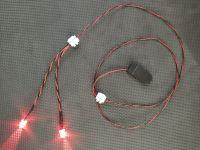 10mm Red Terminator Eyes 1:1 Scale Light Kit