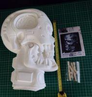 Elfin -  T-800 Skull Vinyl Model Kit - Full Size 1:1 Scale