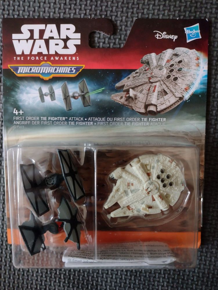 Micro Machines - Star Wars - The Force Awakens - First Order Tie Fighter At