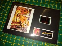 Genuine 35mm Screen Used Movie Cell Display - Indiana Jones and the Temple Of Doom - Ref No 302285