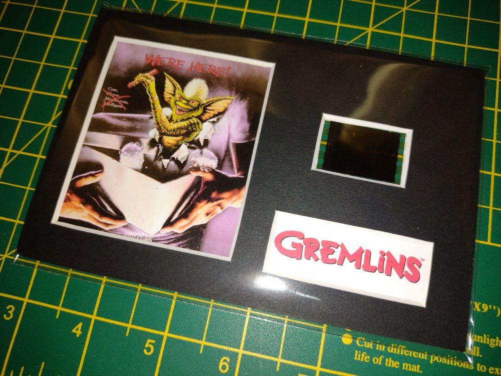 Genuine 35mm Screen Used Movie Cell Display -Gremlins  - Ref No 302291