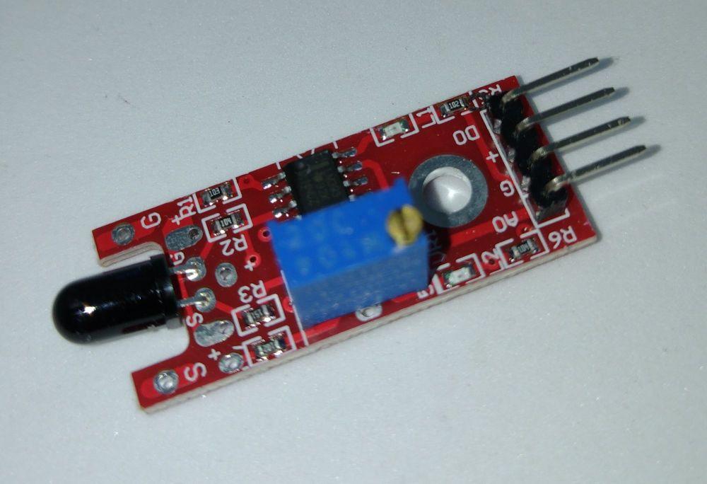 Arduino Sensor Module - Flame Infrared Receiver Sensor Unit