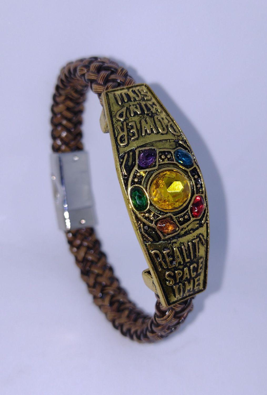 Avengers - Thanos Infinity Stone Unisex Bracelet - Cosplay - Jewellery