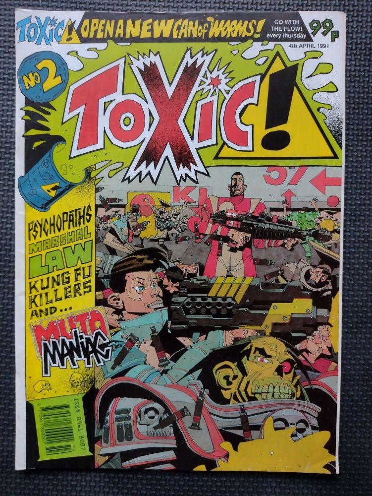 Toxic! - Retro Comic Book - 1990s - Issue 2