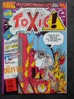Toxic! - Retro Comic Book - 1990s - Issue 4