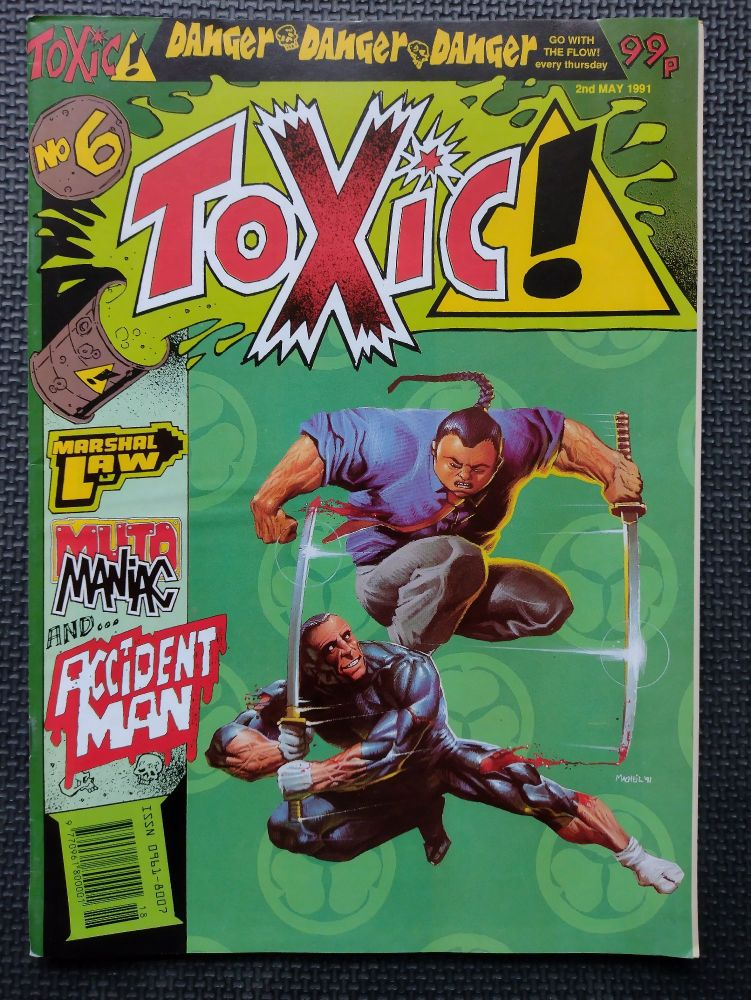 Toxic! - Retro Comic Book - 1990s - Issue 6