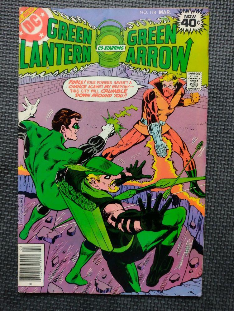 DC Comics - Retro Comic Book - 1970s - Green Lantern & Green Arrow -  Issue