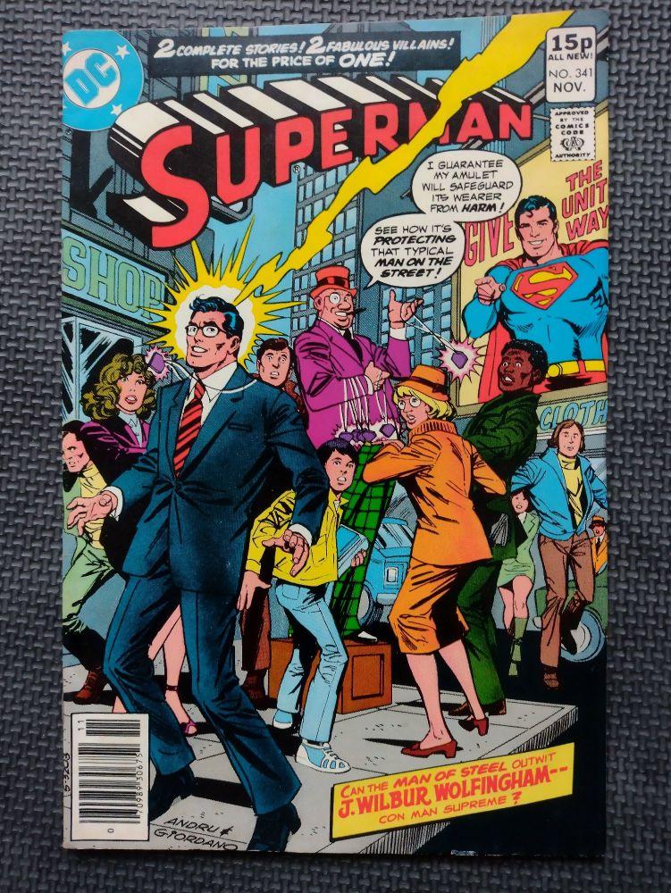 DC Comics - Retro Comic Book - 1970s - Superman -  Issue 341