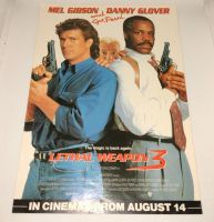 Original Cinema Movie Flyer - Lethal Weapon 3