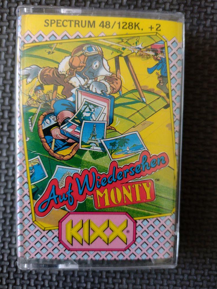 Auf Wiedersehen Monty - Kixx - Vintage ZX Spectrum 48K 128K +2 +3 Software