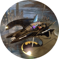 Batman AMT Batwing LIGHT KIT - For AMT948/12 Model Kit 1:25 Scale