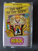 The Way Of The Tiger - Kixx - Vintage ZX Spectrum 48K 128K +2 Software - Tested & Working