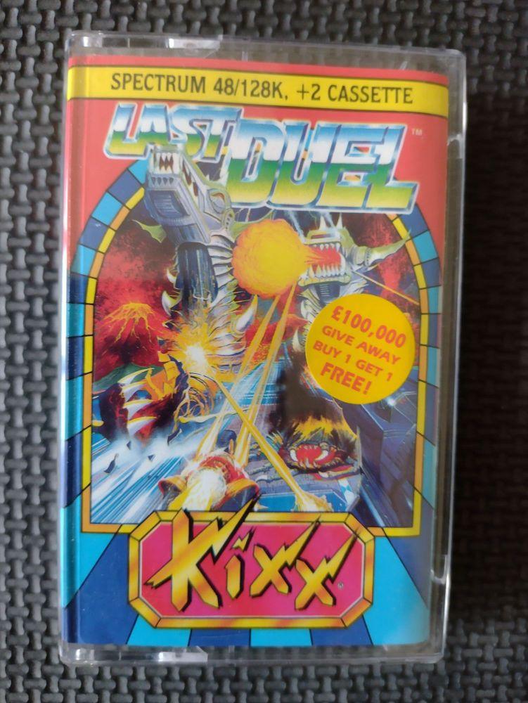 Last Duel - Kixx - Vintage ZX Spectrum 48K 128K +2 +3 Software - Tested & W