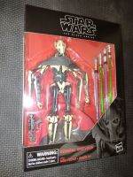 """Star Wars - The Black Series - Deluxe General Grievous Set - E2989 - Collectable Figure 6"""" Tall"""