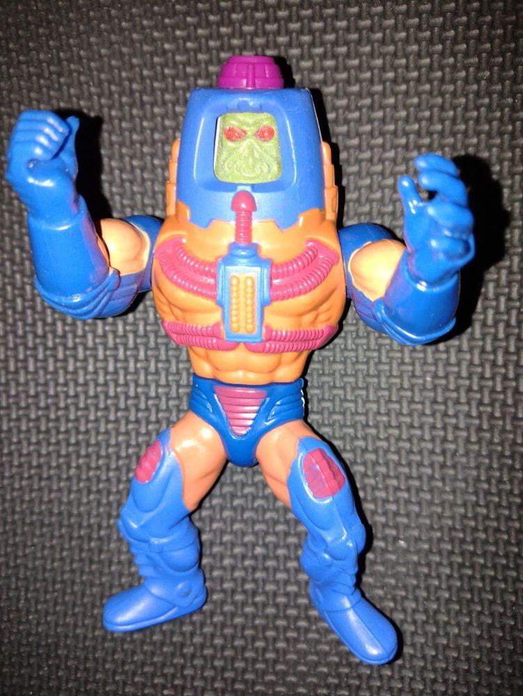 MAN E FACES ~ VINTAGE MASTERS OF THE UNIVERSE HE-MAN 1980's FIGURE MATTEL 1