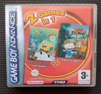 SpongeBob & Rugrats 2 In 1 NINTENDO GAMEBOY ADVANCE / ADVANCE SP Game