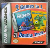 Finding Nemo & Monsters Inc - 2 In 1 - NINTENDO GAMEBOY ADVANCE / ADVANCE SP Game