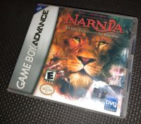 Narnia - The Lion The Witch & The Wardrobe  NINTENDO GAMEBOY ADVANCE / ADVANCE SP Game