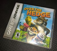 Over The Hedge NINTENDO GAMEBOY ADVANCE / ADVANCE SP Game