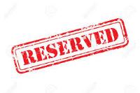 Reserved Bespoke Work