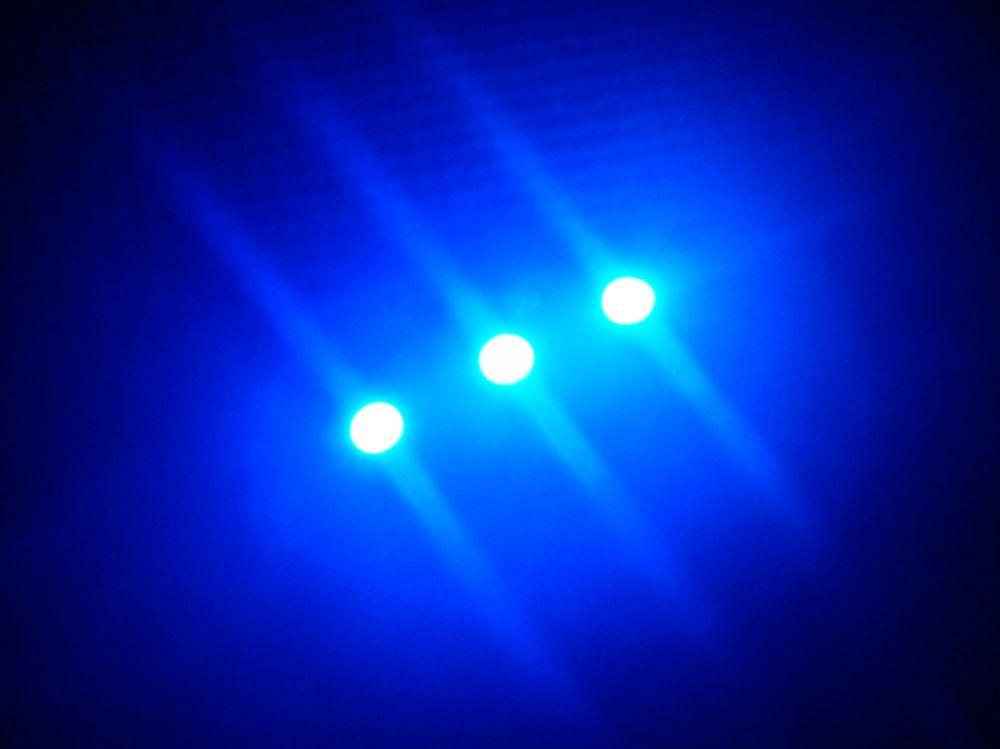 SMD Strip 3 Led 5cm Blue