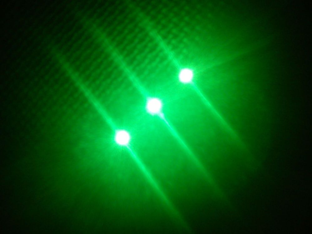 SMD Strip 3 Led 5cm Green