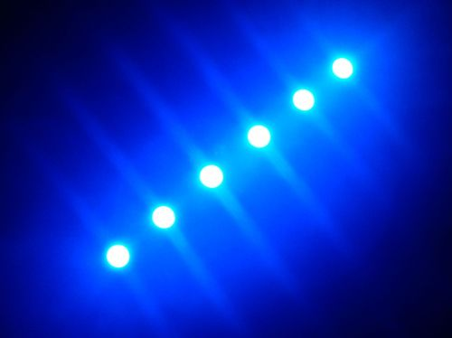 SMD Strip 6 Led 10cm Blue
