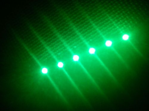 SMD Strip 6 Led 10cm Green
