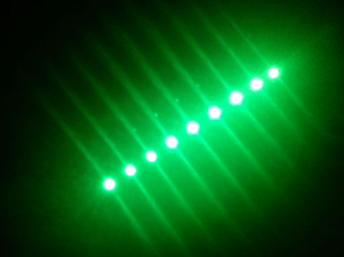 SMD Strip 9 Led 15cm Green