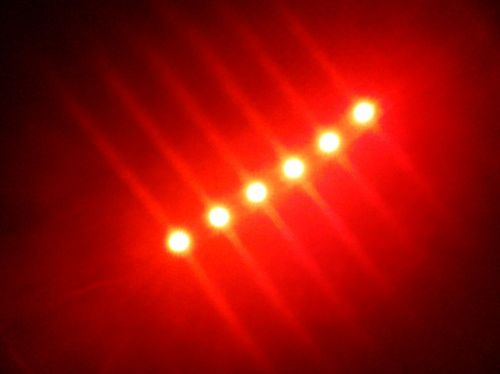 SMD Strip 6 Led 10cm Red