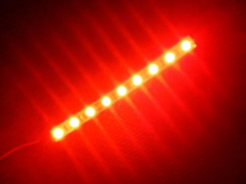 SMD Strip 9 Led 15cm Red