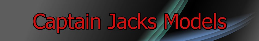 Captain Jacks Models, site logo.